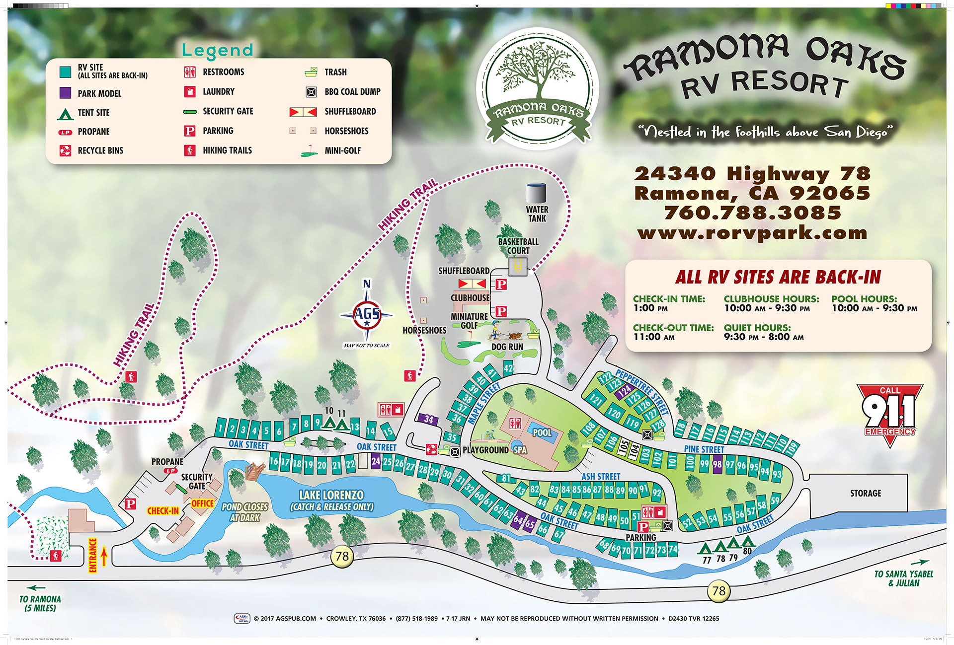 Rv park camp map san diego county camping for Site plan app